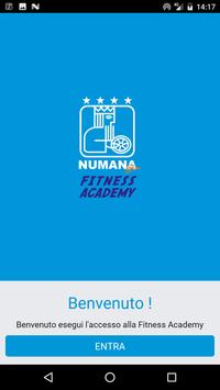 Fitness Academy (NUMANA BLU) poster