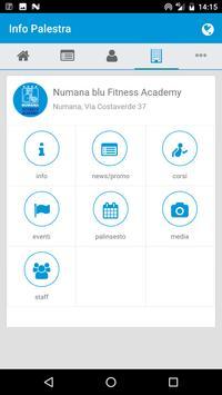 Fitness Academy (NUMANA BLU) apk screenshot