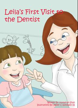 Leila's visit to the Dentist poster