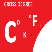 Cross Degree icon