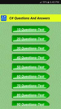 C# Questions And Answers poster