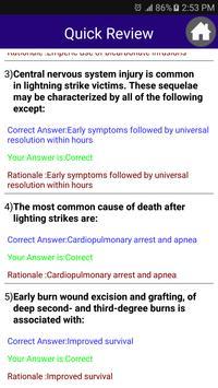 Critical Care Surgery Exam apk screenshot