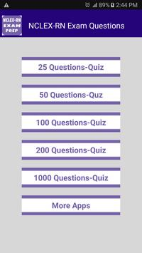 NCLEX-RN Free Questions with Answers apk screenshot