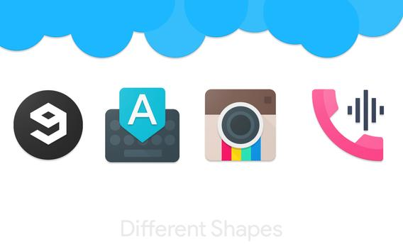 Macaroons - Icon Pack apk screenshot