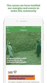 Shahid Afridi Foundation screenshot 1