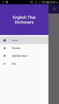 English Thai Dictionary poster