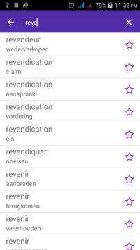 French Dutch Dictionary screenshot 2