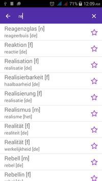 German Dutch Dictionary screenshot 2