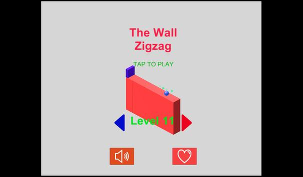 The Wall Ball Zigzag poster
