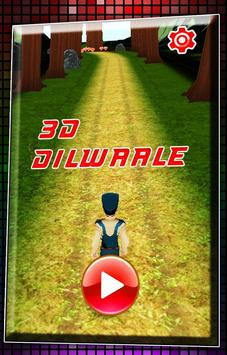 3D Dilwaale 2015 poster