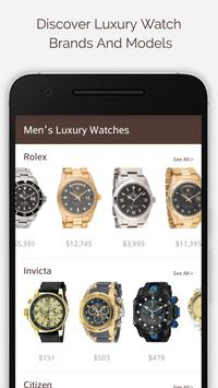 Luxury Watches For Men poster
