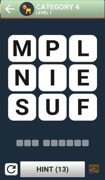 Word Brain Puzzle King screenshot 3
