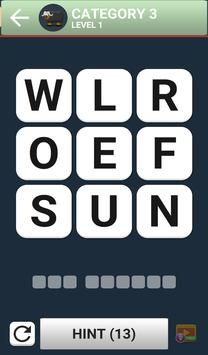 Word Brain Puzzle King screenshot 2