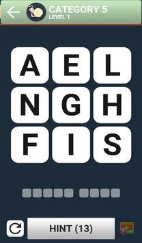 Word Brain Puzzle King screenshot 4