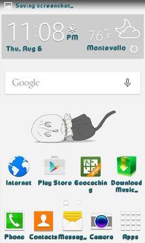 Bad Kitty Live Wallpaper apk screenshot