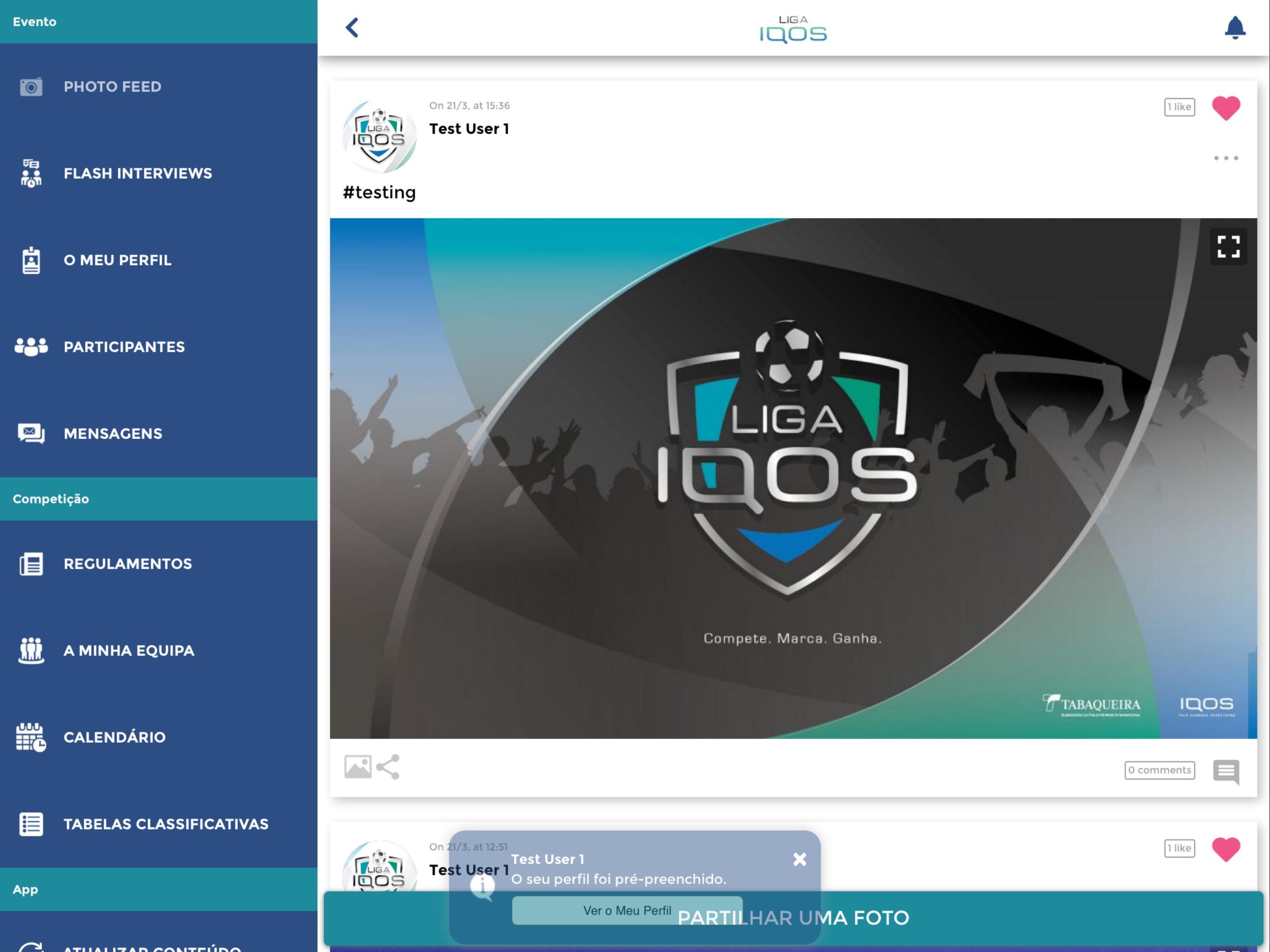 Liga iQOS cho Android - Tải về APK