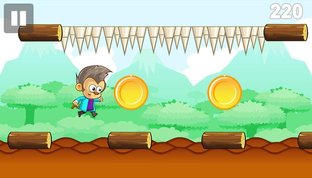 Lazy Monkey Banana World Rush screenshot 1