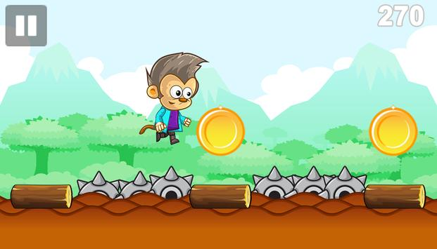 Lazy Monkey Banana World Rush screenshot 2