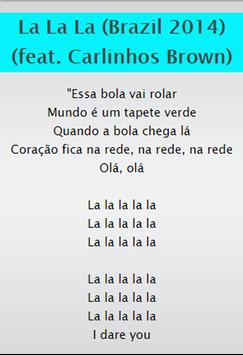 Shakira Top SongLyrics screenshot 3