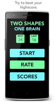 Two Shapes, One Brain apk screenshot