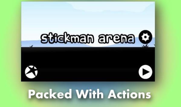 Stickman Fighter showdown poster