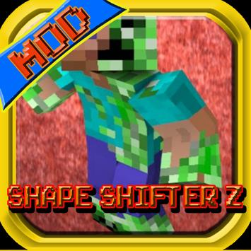 Shape ShifterZ Mod MCPE Guide poster