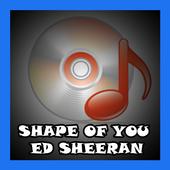Shape of You Ed Sheeran icon