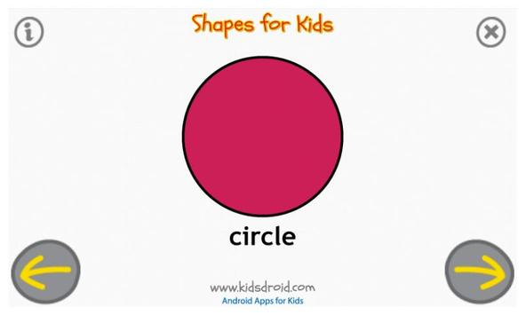 Shapes for Kids (Preschool) screenshot 3