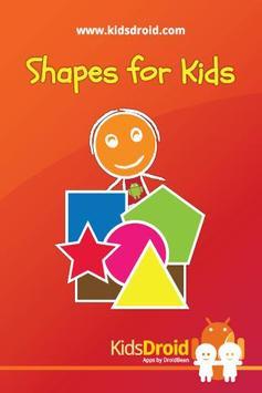 Shapes for Kids (Preschool) poster