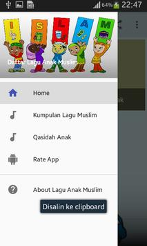 Kumpulan Lagu Anak Muslim Jaman Now Offline screenshot 1