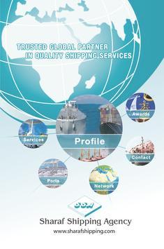 Sharaf Shipping Agency poster