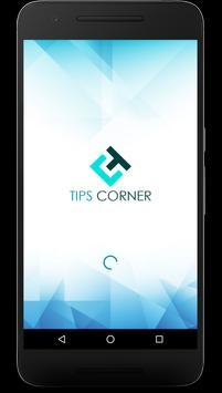 Tips Corner poster
