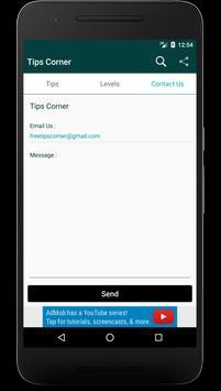 Tips Corner apk screenshot