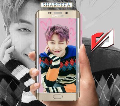 ... BTS RM wallpaper HD 2018 screenshot 2 ...