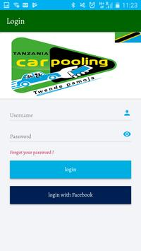 Tanzania Car Pooling screenshot 4