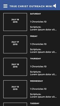 True Christ Outreach Ministry screenshot 3
