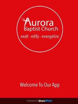 Aurora Baptist Church apk screenshot