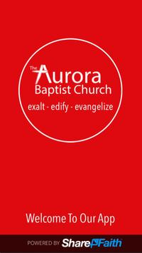 Aurora Baptist Church poster