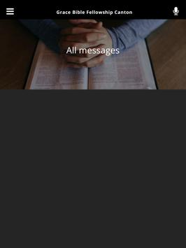 Grace Bible Fellowship Canton apk screenshot