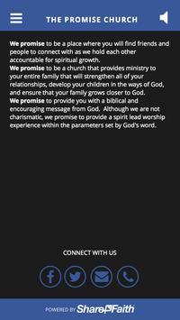 The Promise Church apk screenshot