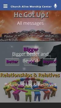 Church Alive Worship Center apk screenshot