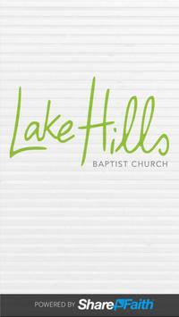 Lake Hills Baptist Church poster