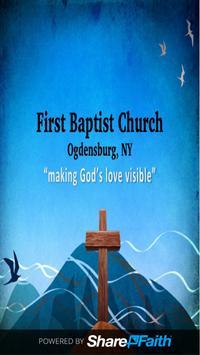 First Baptist - Ogdensburg NY poster