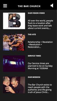 The BAR Church apk screenshot