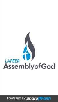 Lapeer Assembly of God poster