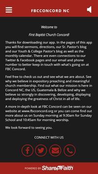 FBCConcord NC apk screenshot