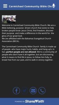 Carmichael Community Bible Chu apk screenshot