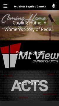 Mt View Baptist Church apk screenshot