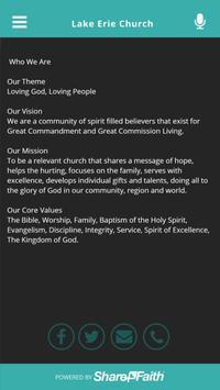 Lake Erie Church poster