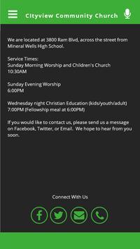 Cityview Community Church apk screenshot
